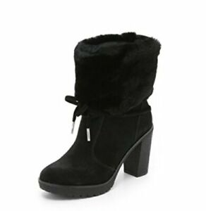 Michael-Kors-Womens-Hawthorne-Ankle-Boots-Booties-Shearling-Fashion-Winter-Shoes