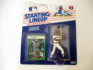 1989 SLU STARTING LINEUP ALVIN DAVIS SEATTLE MARINERS CARD FIGURE~NEW SEALED