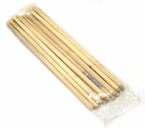 10-PAIRS-Zildjian-Power-Pro-Light-Rock-WOOD-TIP-Drum-Sticks-USA-Made-BLOWOUT