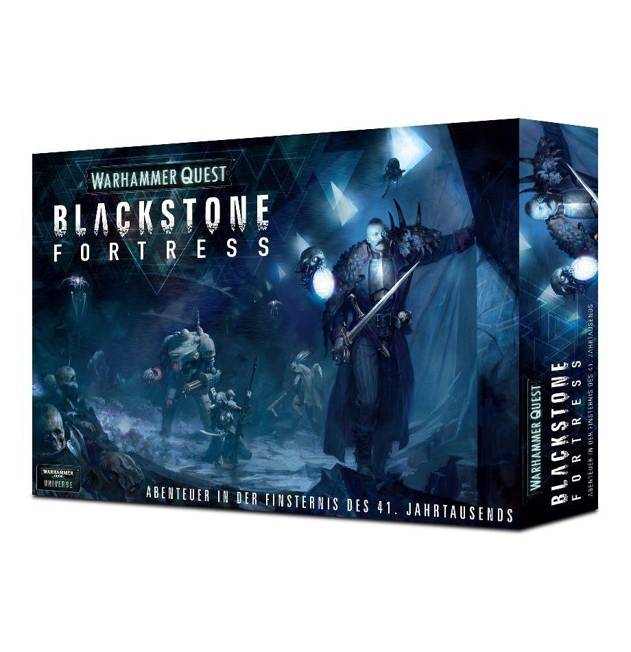 Warhammerクエストブラックストーン要塞(ドイツ語)ゲームワークショップ