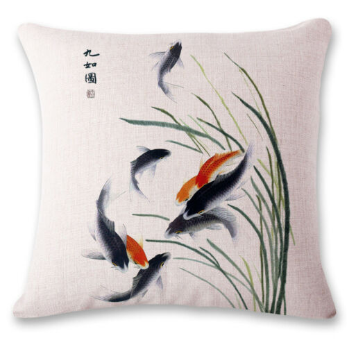 """18/"""" Chinese style Home Decorative Throw Pillow Case Sofa Waist Cushion Cover"""