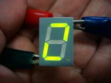 Lot 25 Green 05 High 7 Segment Led Displays Vishay Tdsg5157 New And Unused