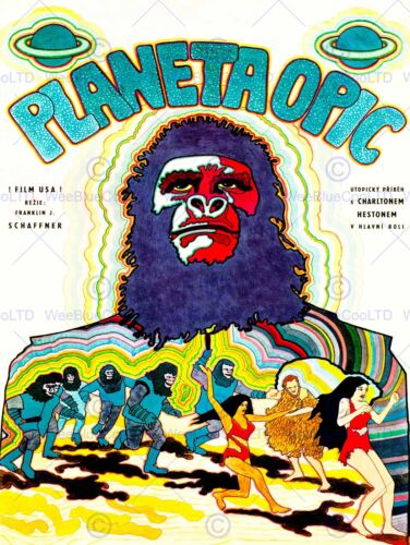 FILM PLANET OF THE APES VINTAGE FOREIGN NEW ART PRINT POSTER PICTURE CC3141