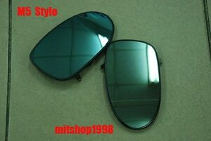 BMW M5 Style Side View Mirrors Glass Set