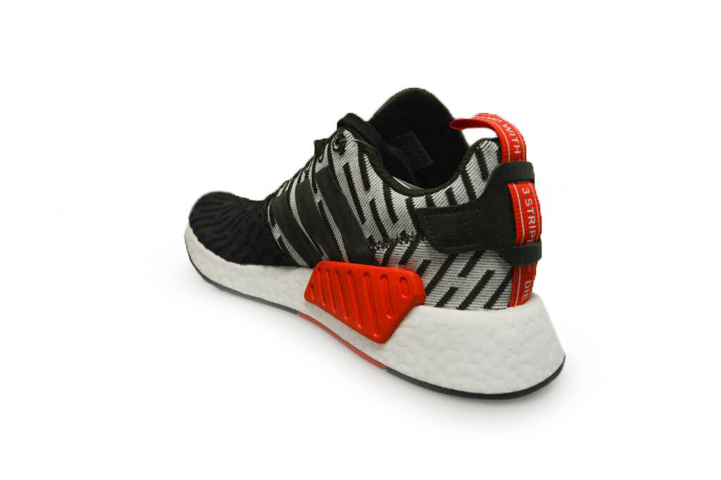 Hommes Adidas Nmd_R2 - BY2500 Baskets - Vert Blanc Baskets BY2500 Rouge 591ff5