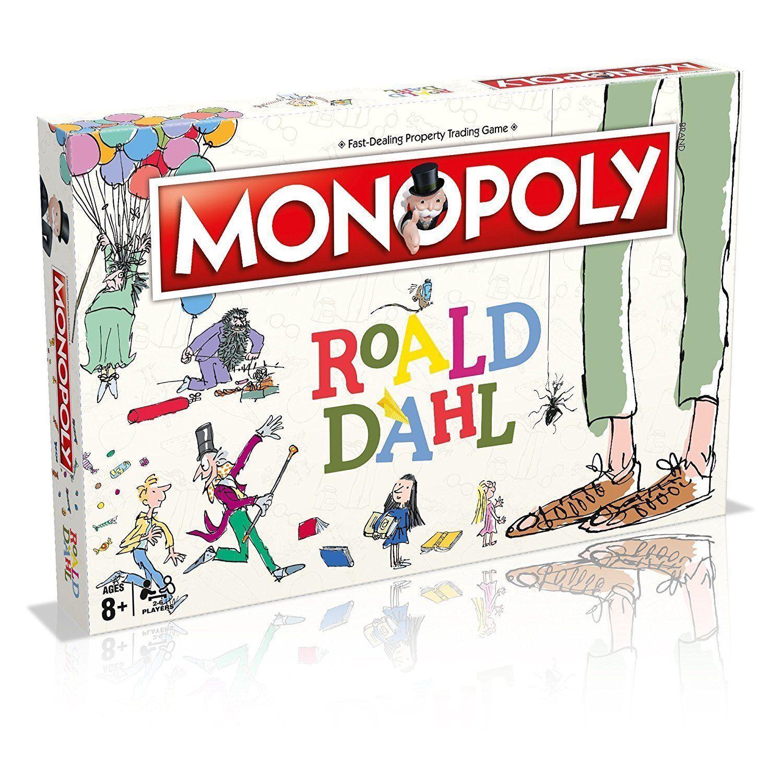 Monopoly Roald Dahl Board Game Kids Toys Christmas Birthday 2018 2019 XMAS Gift