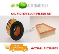 PETROL SERVICE KIT OIL AIR FILTER FOR SKODA FABIA 1.2 60 BHP 2011-
