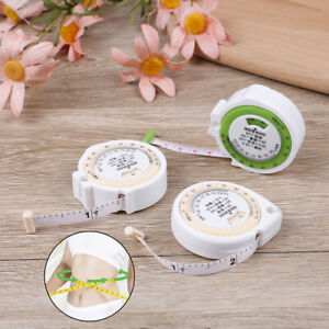 BMI Body Mass Index Measuring Tape 150cm Weight Loss Healthy Diet Fitness Me Gy
