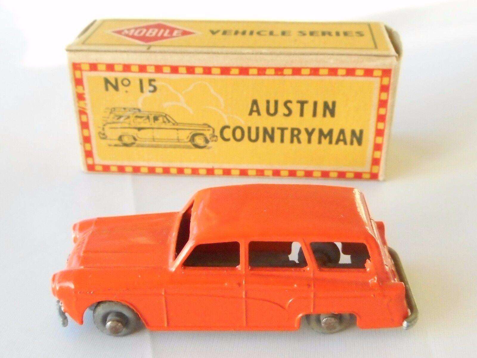 Morestone No 15 Austin Countryman, orange in original box.
