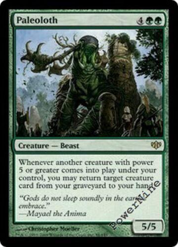 Green Conflux Mtg Magic Rare 4x x4 4 FOIL Paleoloth