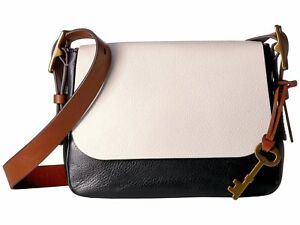 cf0d820a541f Image is loading New-Fossil-Women-Harper-Small-Saddle-Leather-Crossbody-