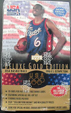 Upper Deck USA Gold Edition Basketball 1996-97 11-Pack Box Dream Team