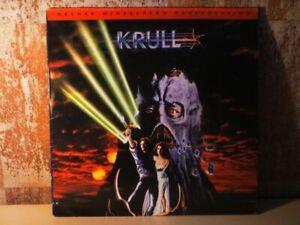 KRULL-2x-LASERDISC-DeLuxe-Widescreen-Excalibur-meets-Star-Wars