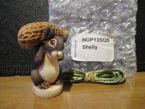 Harmony Kingdom Shelly UK Made Atlanta Event Squirrel w/Peanut Pendant SGN RARE
