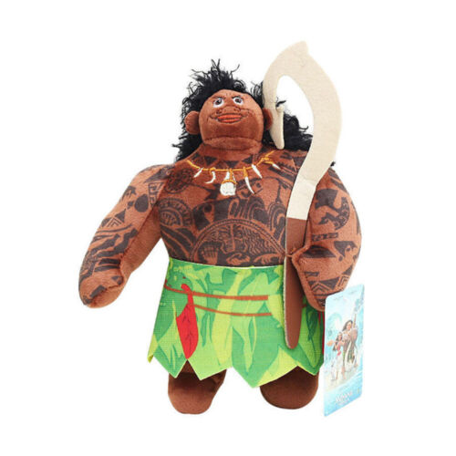 "8/"" Soft Toys Moana Maui Heihei Pig Plush Dolls Stuffed Animals Child/'s Gift"