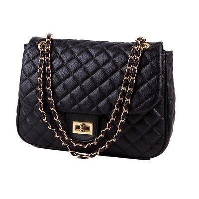 Gesteppt Shopper Tasche Handtasche Kette Boho Vintage Damen Messenger Beutel Hot