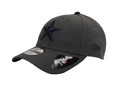NEW ERA 9Forty NFL Dallas Cowboys The League Charcoal Navy Strapback Cap Men Hat