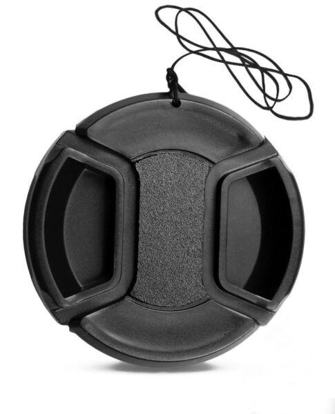 Copieux 77mm Bouchon Cache Avant Universel Pour Objectif Photo - Canon Sony Pentax Nikon Un Enrichit Et Nutritif Pour Le Foie Et Les Rein