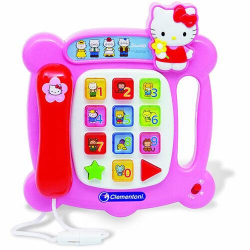 Das sprechende Telefon von Hello Kitty sprechendes Telefon - Clementoni 69881.3