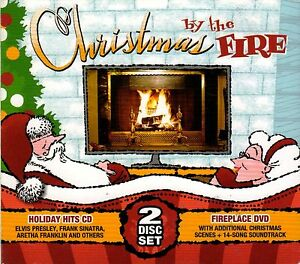 Christmas by the fire holiday hits cd bonus virtual fireplace image is loading christmas by the fire holiday hits cd bonus teraionfo