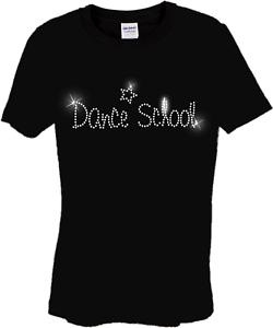 École De Danse Enfants T Shirt Cristal Strass Danse Design... Enfants Toute Taille-afficher Le Titre D'origine