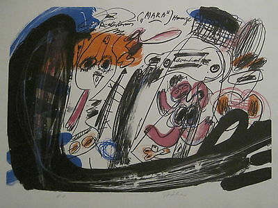 "Walter Stöhrer-Litho-""MARA III ""1972 -50er Aufl.,B.Zimmer,Götz,Appel,Antes"