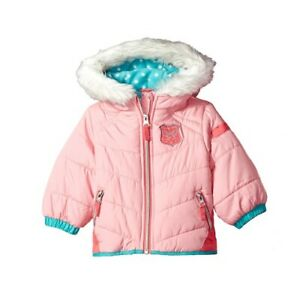 New-London-Fog-Baby-Girl-039-s-Pink-Puffer-Jacket-SIZE-2T-MSRP-100