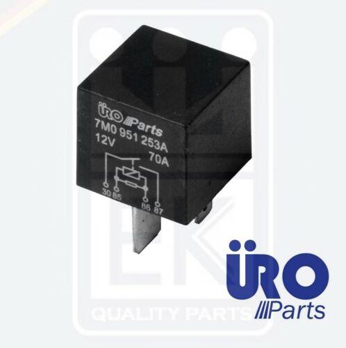 URO Parts Multifunction Purpose Relay 4-Pin For VW AUDI VW SKODA SEAT 7M0951253A