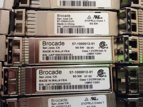Brocade 57-1000012-01  8Gbps SWL 850nm SFP Optical Fiber Transceiver