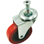 """6 Pack 2/"""" LOW PROFILE Swivel Caster Wheel For Creeper Service Cart Stool"""