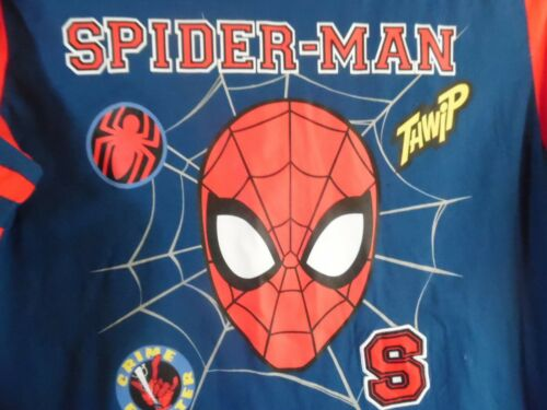 MARVEL SPIDER-MAN RED BLUE SUPER HERO LONG SLEEVE BOYS T-SHIRT MEDIUM 8