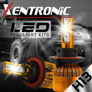 XENTRONIC-LED-Headlight-kit-H13-9008-White-for-2008-2016-Ford-E-450-Super-Duty
