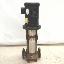 Grundfos Cr4 80 3 Hp 3 Ph Vertical Centrifugal Pump 22 Gpm H252 360 Psi 250f
