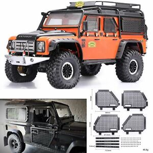 For-Land-Rover-Defender-Traxxas-TRX4-RC4WD-D90-D110-1-10-Cars-Window-Mesh-Fence