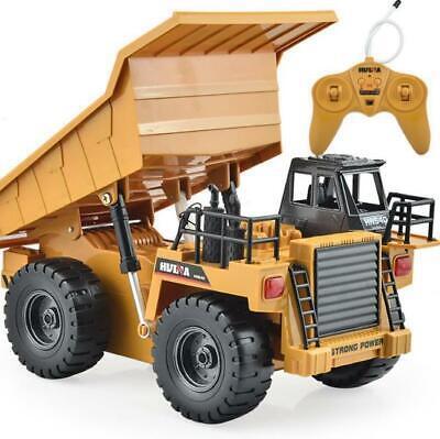 Original RC Big Dump Truck Vehicles Tractor Car  Led Lights Remote Control Truck
