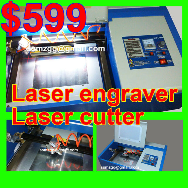 40/50W laser engraving cutting machine high speed engraver cutter cnc router usb