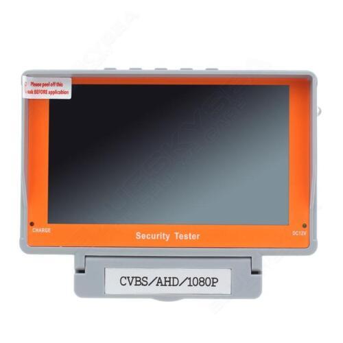 EYOYO Portable 5 Inch1080P AHD Analog CCTV Camera Tester Wrist UTP Audio DC 12V
