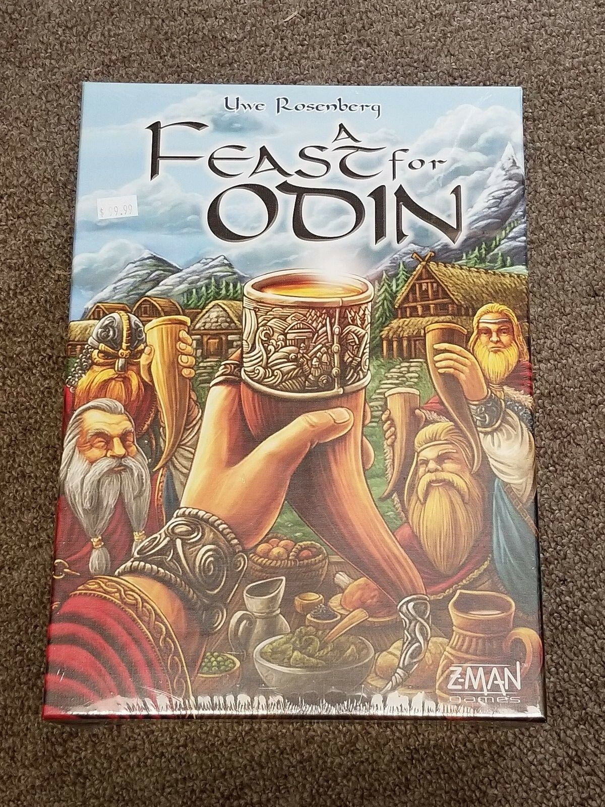 Z-Man Games A Feast for Odin Board Game