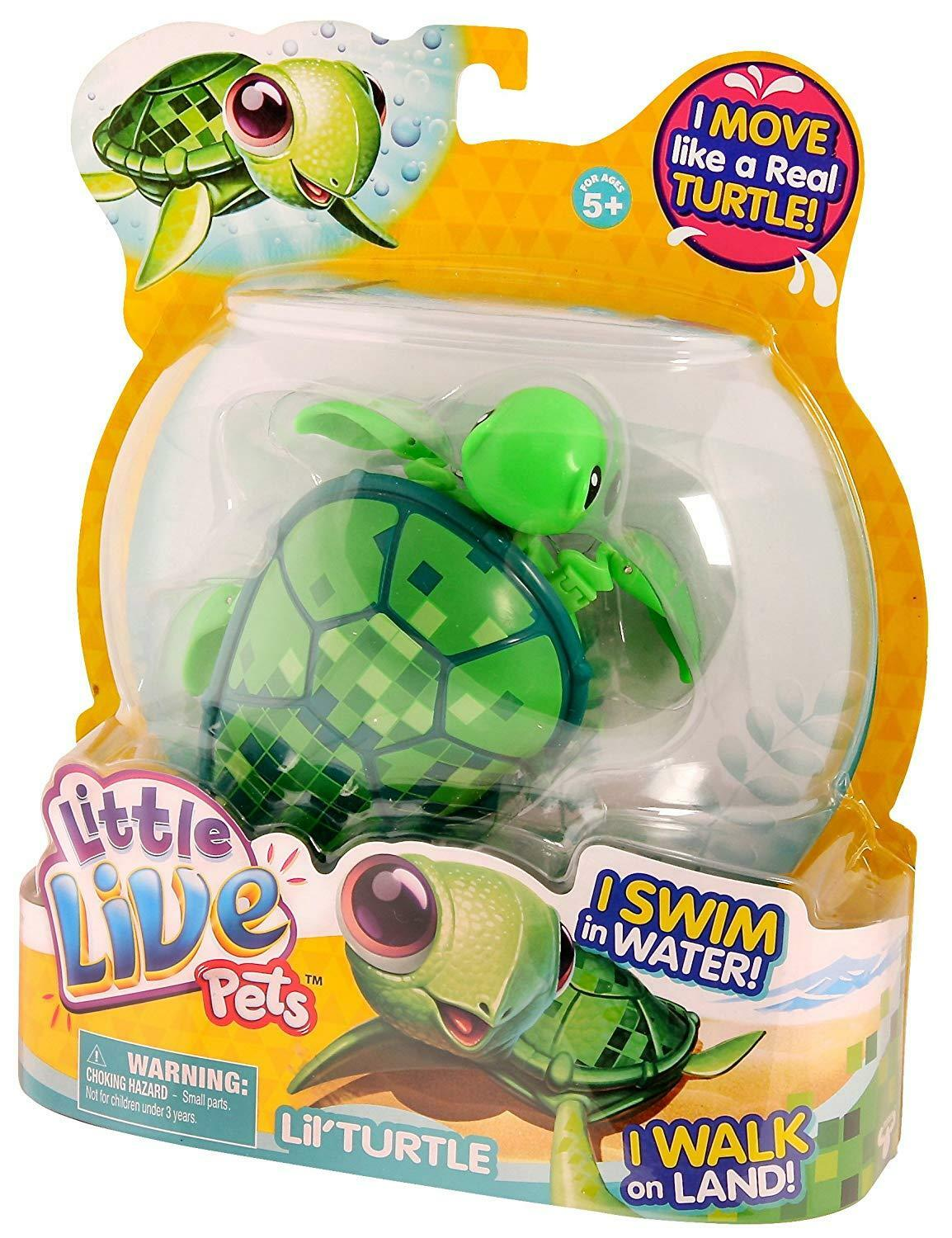 Little Live Pets Swimstar Turtle Toy (Green)