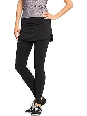 Old Navy Women's Active Skirted Compression Pants BLACK #646