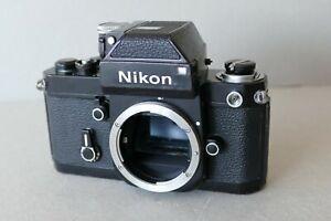 Nikon F2 +Sucher mit Belichtungsmesser DP-1 schwarz ca. 1975