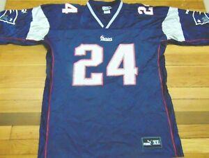 bd8ffe86b Vintage puma new england patriots law jersey size ebay jpg 300x228 Ty law  jersey number
