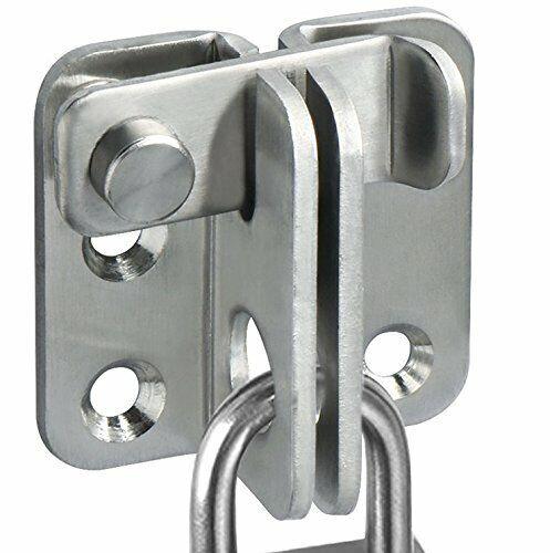Matte Black Stainless Steel Gate Latches Flip Latch Safety Door Bolt Latch Lock