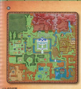 Zelda World Map Prize Microfiber Blanket Japan Import NEW EBay - World map blanket