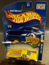 HOT WHEELS 2002 #219 -1 DODGE RAM 1500 YELLO 3SP CHINA 02 CA