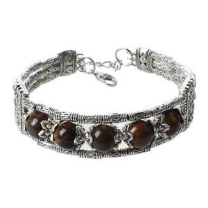 Ethnisches-Armband-Armband-Stein-Tigerauge-J4O6-T3Y7
