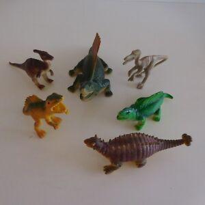 6 Estatuillas Figuras Dinosaurios