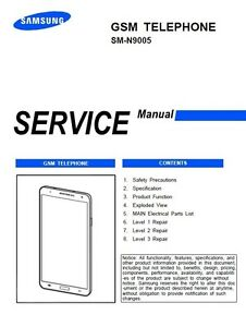 samsung galaxy note 3 sm n9005 service manual repair guide ebay rh ebay com Samsung SM N900v SM-N900V Power Saving