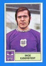 FOOTBALL 1972-73 BELGIO -Panini Figurina-Sticker n 18 -EJDERSTEDT-ANDERLECHT-Rec