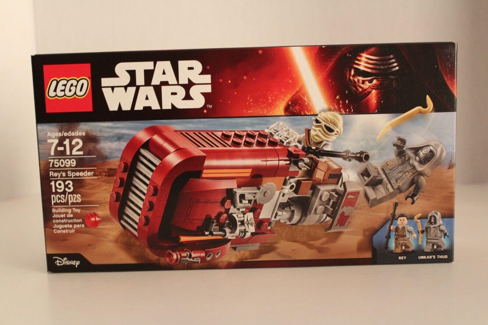 75099 Lego Rey/'S Speeder  Star Wars Age /'7-12 New 2015 Release! 193 Pieces